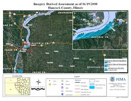 Cairo Illinois Map by Disaster Relief Operation Map Archives