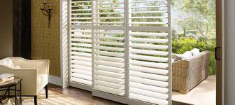 decorating modern blinds and shades with hunter douglas shutters