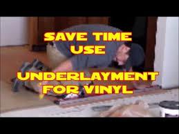 Vinyl Plank Flooring Underlayment D I Y Install Underlayment For Vinyl Flooring Home Depot