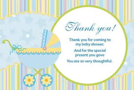 thank you card for baby shower thank you card boys and girl baby shower thanks you cards