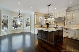 black high gloss wood countertops wood floors with white
