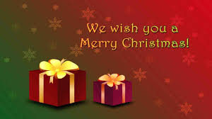 i wish you a merry and happy holidays tree