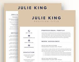 Two Page Resume Example by Resume Template Cv Template For Word Two Page Resume Cover