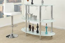Glass Bar Table River White Bar Table Coco Furniture Gallery Furnishing Dreams