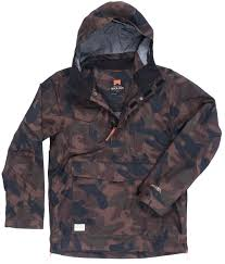 holden outerwear logo holden scout side zip snowboard jacket mens