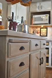 Whitewashed Kitchen Cabinets How To Whitewash Oak Cabinets Www Redglobalmx Kitchen Designs