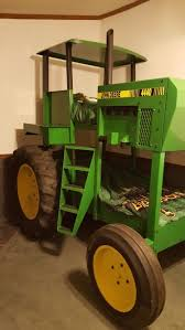 the coolest john deere bed on pinterest all handmade to look like