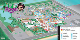 parks map park map jolly roger amusement parks city md
