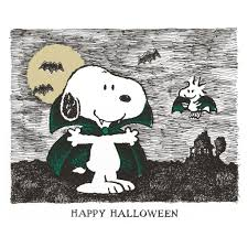 happy halloween snoopy woodstock and happy halloween