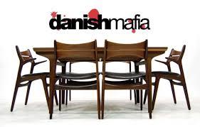 mid century danish modern teak dining table eames danish mafia