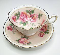 vintage china with pink roses panese teacup and saucer set paragon bone china tea cup and