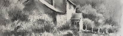 How To Draw Landscapes by How To Draw A Landscape In Charcoal Arttutor