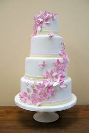 butterfly wedding pink butterfly cake wedding cake cake ideas by