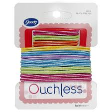 goody hair ties ouchless elastic hair bands colors