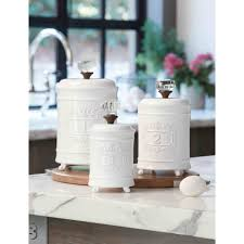 Glass Kitchen Canister Sets The Functional Glass Kitchen Canisters Kitchen Inspirations