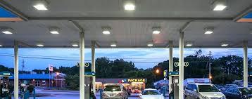 antique gas station lights for sale gas station lighting curvehe top