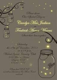 jar wedding programs the jars and fireflies wedding invitation fireflies wedding