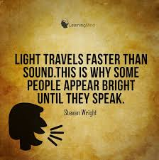 What Travels Faster Light Or Sound Since Light Travels Faster Than Sound Some People Appear To Be