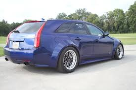 cadillac cts v wagon for sale car feature miller s immaculate opulent blue cts v wagon