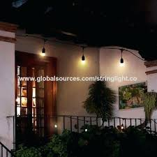 Decorative Patio String Lights Marvelous Patio String Lights China Led Patio String Lights For