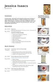 Food Prep Resume Example by Customer Service Associate Resume Samples Visualcv Resume