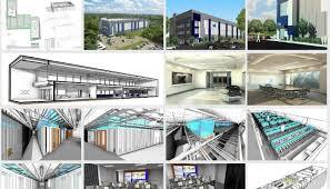 Bim Technology Revit Architecture Data Center Pedro Dapalma Revit Architecture House Design
