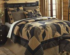 California King Quilts And Coverlets Vhc Brands Rustic Primitive Patchwork Quilts Bedspreads