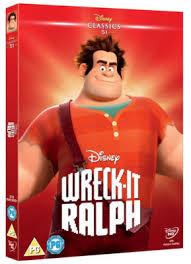 wreck ralph dvd