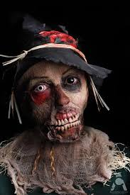zombie scarecrow by prettyscary on deviantart face paint