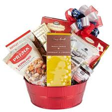 canadian gift baskets o canada gift basket this basket is the gift to celebrate