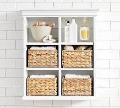 Wall Bathroom Cabinet Bathroom Storage Pottery Barn