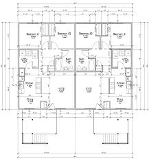 4 Plex Apartment Plans Standard 4 Plex Monument Home Builders