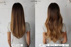 extensions for hair how to choose the right thickness of luxy hair extensions