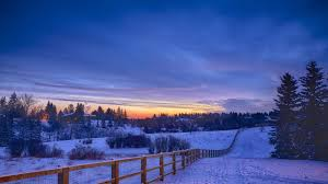 snow landscape winter wallpaper for desktop 4k resolution