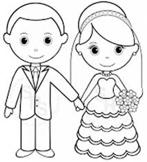 free wedding coloring pages intended to really encourage to color