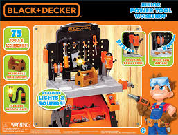 amazon com black decker junior power workbench workshop with