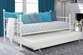 dhp manila metal framed daybed with trundle review houzart