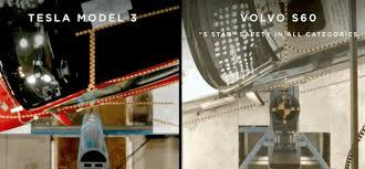 this tesla model 3 crash test footage is just spectacular
