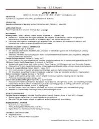 Registered Nurse Job Description For Resume by Rn Resumes Objective For Resume Samples Entry Level Nurse Resume