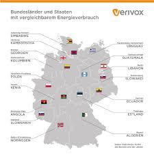 bundesländer nach fläche energieverbrauch der bundesländer