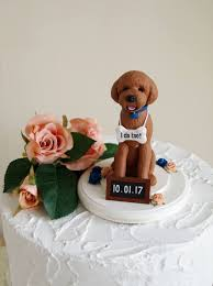 goldendoodle cake topper dog cake topper dog wedding cake