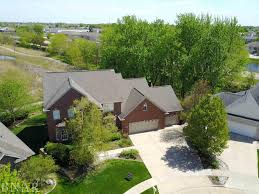 traditional 2 story house illinois waterfront property in bloomington le roy normal lake