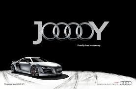 black audi audi print advert by tonic jooooy black ads of the world