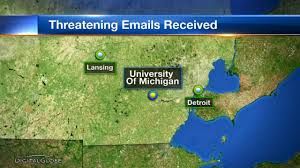 Weather Map Of Michigan by Police University Of Michigan Students Received