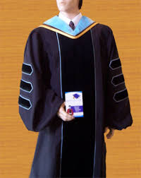 doctorate gown custom graduation doctoral gown
