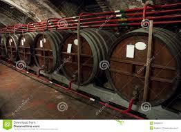 liquor barrel basement stock image image 34896971