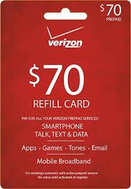 pre paid card verizon wireless prepaid 70 top up prepaid card verizon 70 card