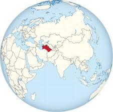 Afghanistan On World Map by File Turkmenistan On The Globe Eurasia Centered Svg Wikimedia