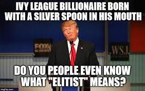 Silver Spoon Meme - donald trump imgflip