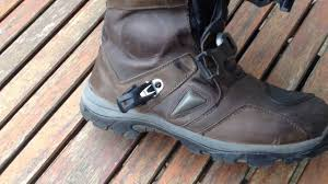 sport riding boots forma adventure boots review youtube